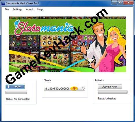 Slotomania Cheat and Hack Tool v 1.9.8 - Game Key Hacks http://gamekeyhack.com/slotomania.zip