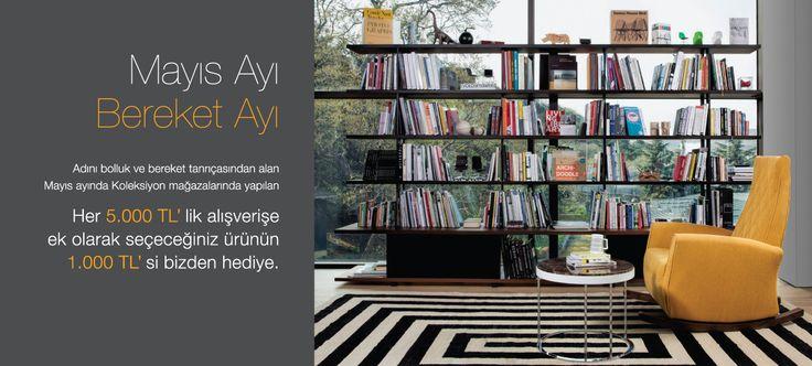 Adını Roma bereket tanrıçasından alan, bolluk ve bereket ayı olarak bilinen Mayıs ayına özel ev mobilya kampanyamız var! :)