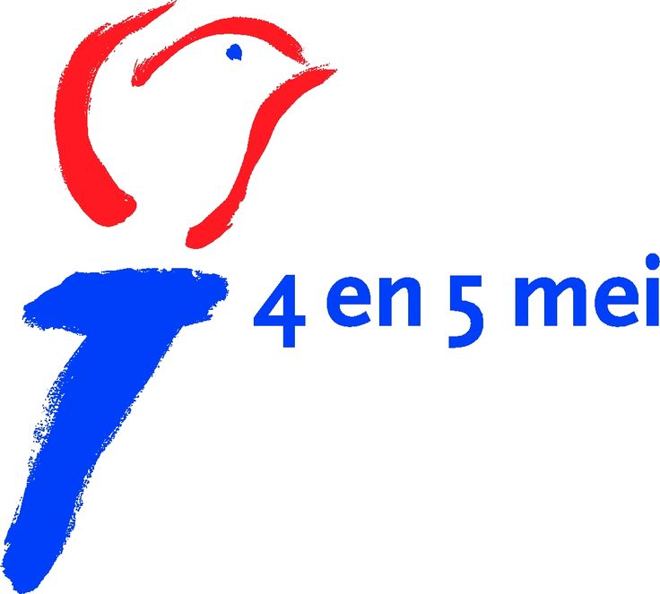 Dit is het symbool voor 4 en 5 mei. Het staat voor de dodenherdenking (4mei) en bevrijdingsdag (5mei). Op 4 mei herdenken we de doden die gevallen zijn tijdens de 2e wereldoorlog en op 5 mei vieren we bevrijdingsdag de dag dat Nederland vrij was van de oorlog.