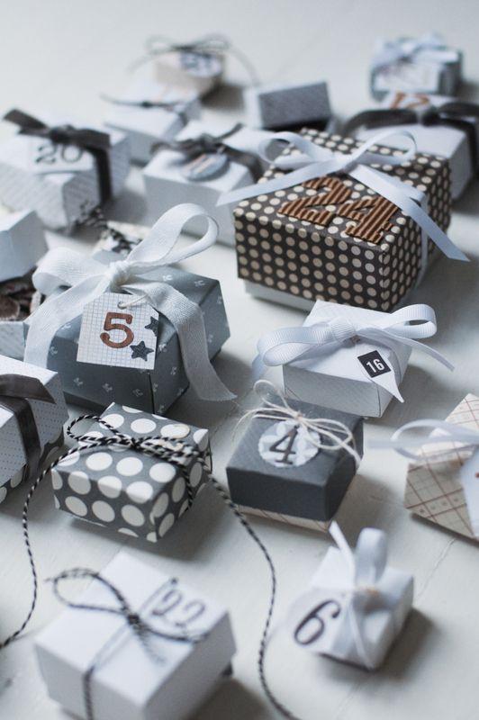 The {chocolate} advent calendar.