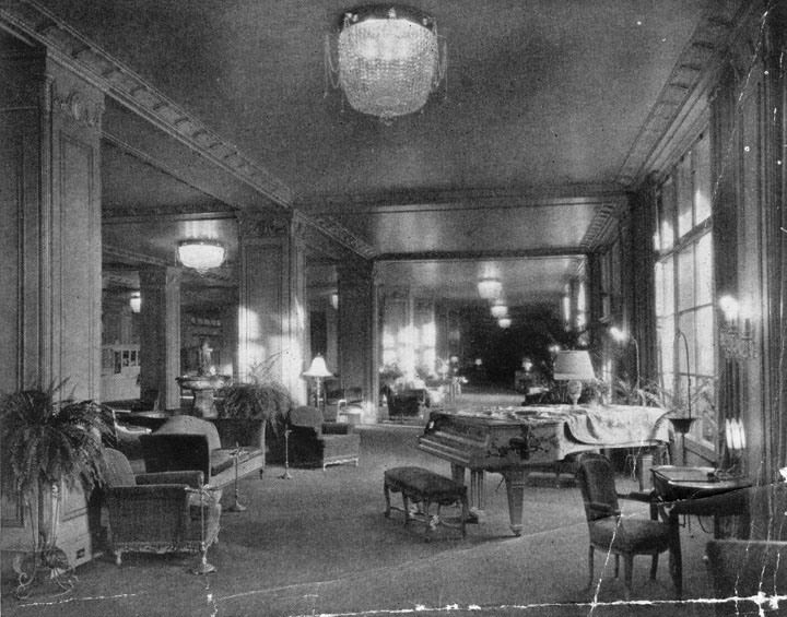1930 Lobby At The Ambassador Hotel Los Angeles Koreatown