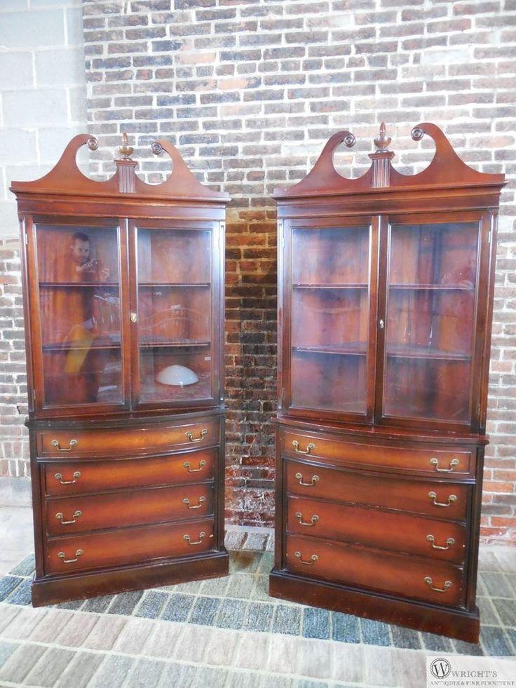 1000 ideas about corner china cabinets on pinterest. Black Bedroom Furniture Sets. Home Design Ideas
