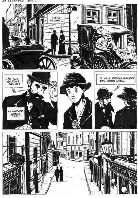 I MIEI SOGNI D'ANARCHIA - Calabria Anarchica: Chabouté - Henri Désiré Landru planche 84  Artist:...