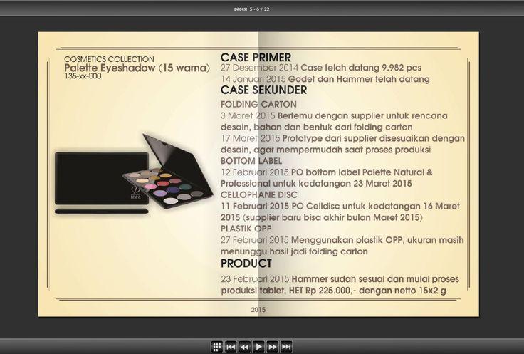 Salah satu slide halaman waktu Meeting Produk :)
