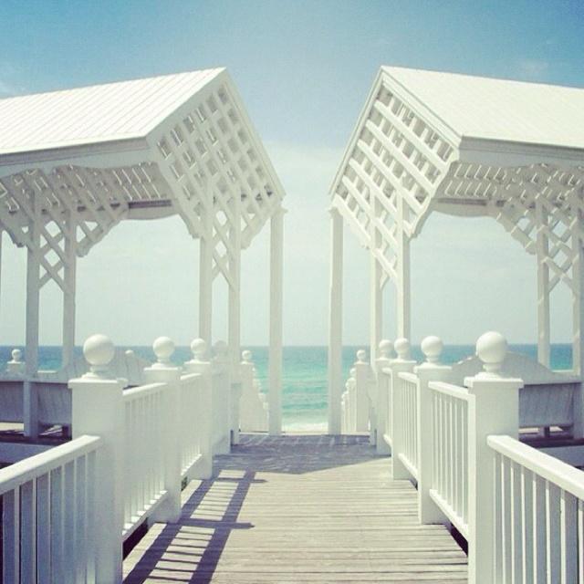 Seaside, Florida. Simply gorgeous!