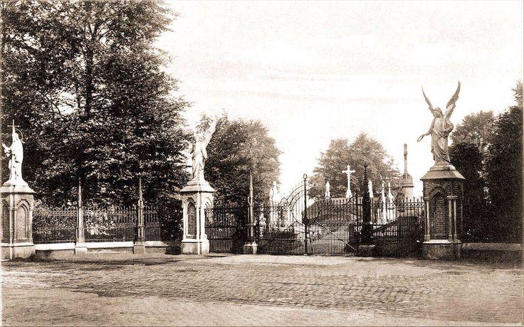 067 Bredaseweg 1915 Ingang begraafplaats