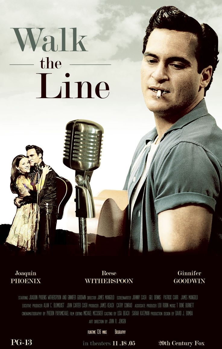 # 77 Johnny Cash played by Joaquin Phoenix Brilliantly.. I liked the fact he made him ..Reece Witherspoon was perfect winning the Oscar..