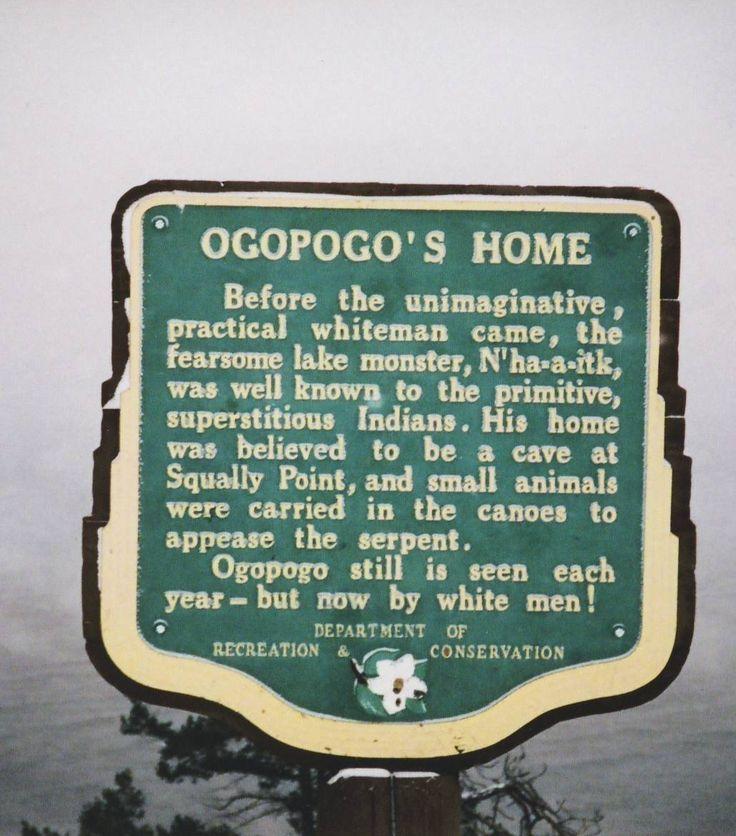 Stories of Ogopogo