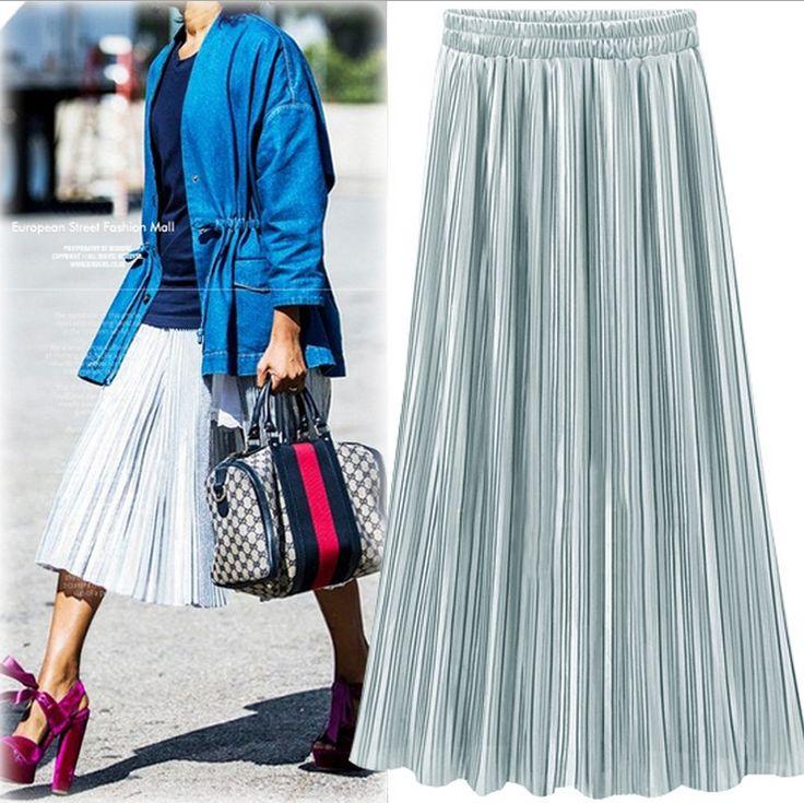 Плиссированные теплые юбки