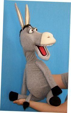 Pavlovs Puppets (Donkey puppet, Puppet for sale)