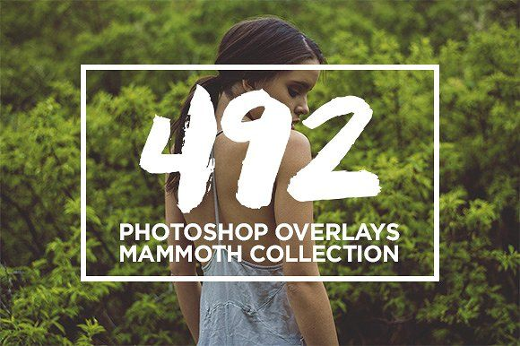 Photoshop Overlays MAMMOTH Bundle by NUUGraphics on @creativemarket