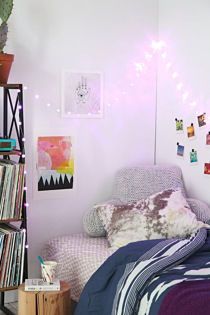 Decorative lights for dorm room - Rosebud String Lights