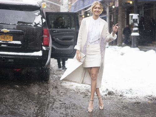 The Models Made Cozy Look Chic on the Last Day of NYFW