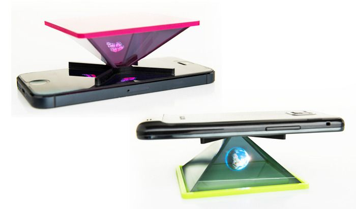HOLHO - Hologram generator for SMARTPHONE and TABLET by IMAGINATION FARM USA LLC — Kickstarter