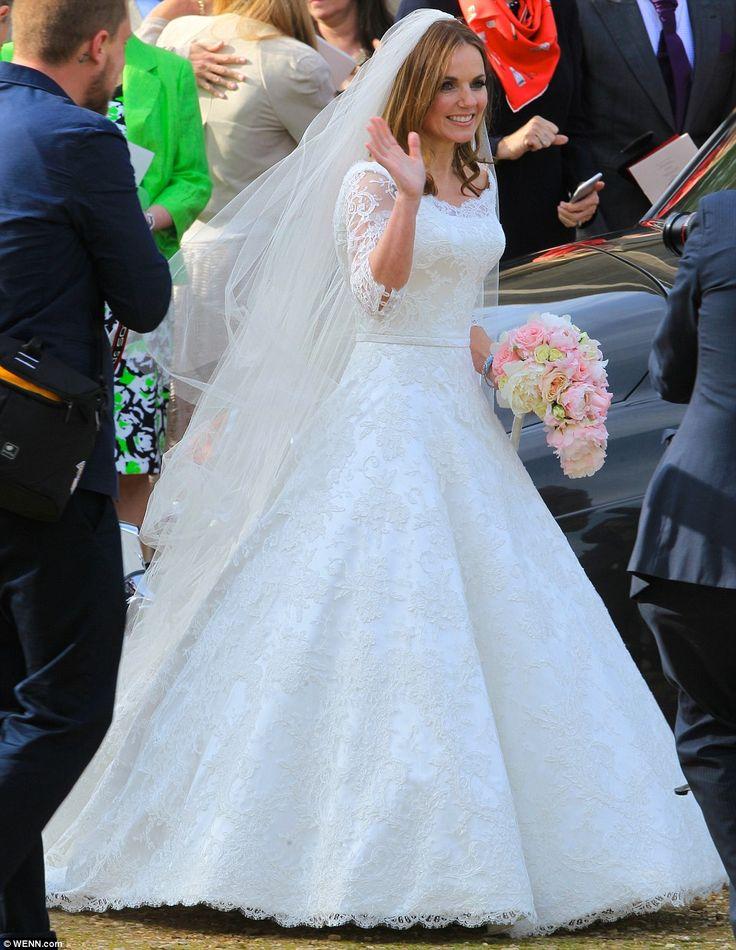 143 best wedding celebrity weddings images on pinterest for Dresses for church wedding