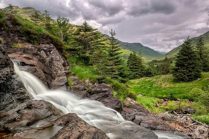 Easan Dubh Fall, Argyll