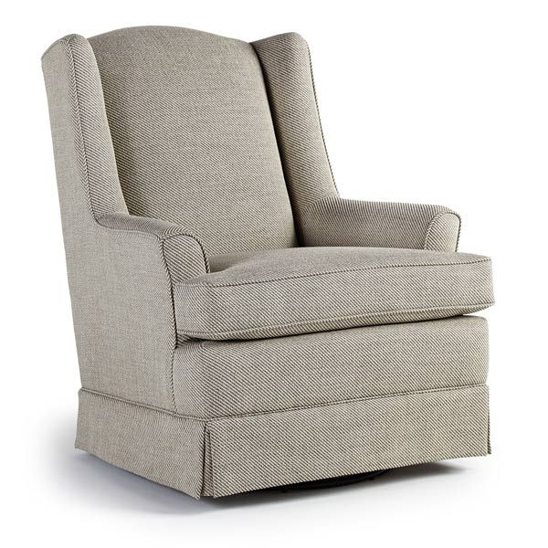 brand new isla swivel glider chairs u0026 ottomans from best home furnishings - Nursing Rocking Chair