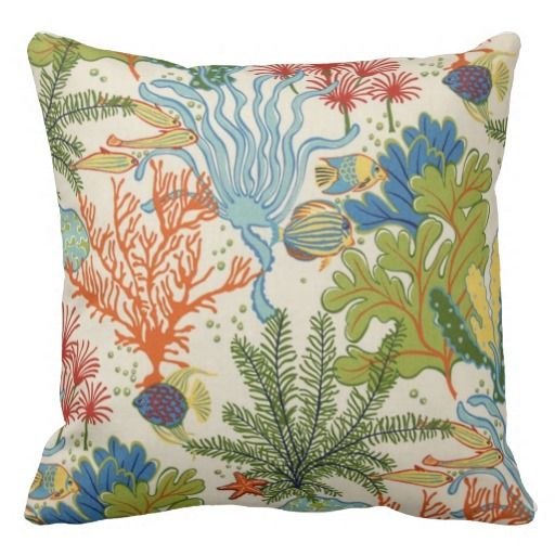 1000+ images about Sea Life Throw Pillows on Pinterest