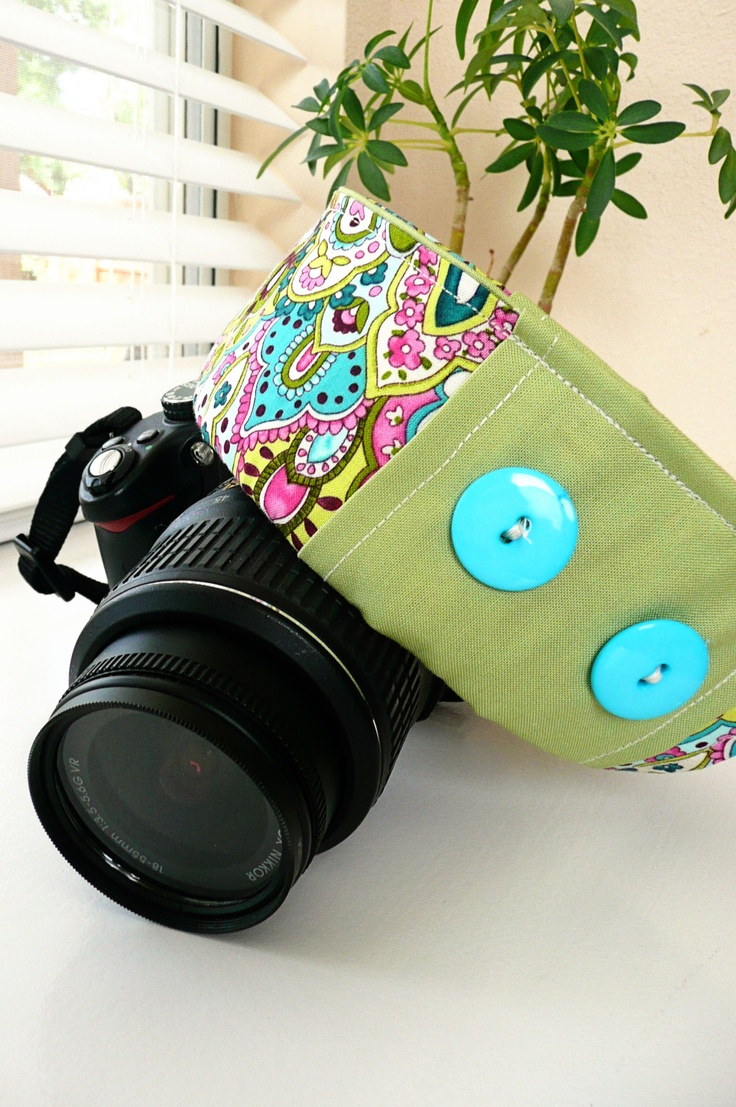 DIY Camera Strap Cover « According to Gus