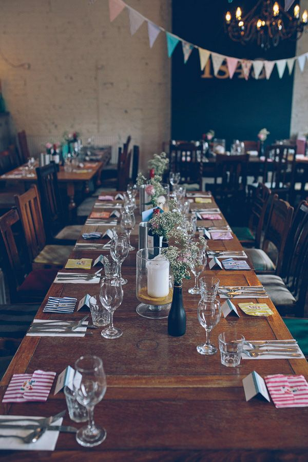 Eclectic u0026 Relaxed London Pub Wedding with