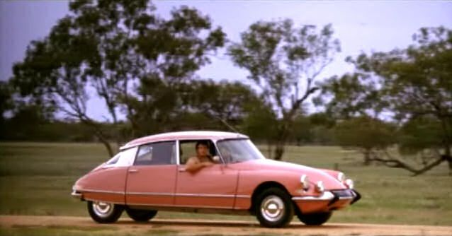 Citroën DS in The Goddess of 1967