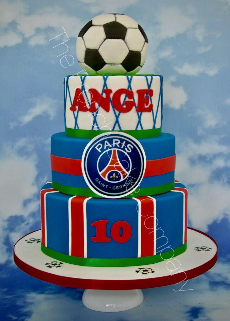 Resultado de imagen para torta del futbol psg
