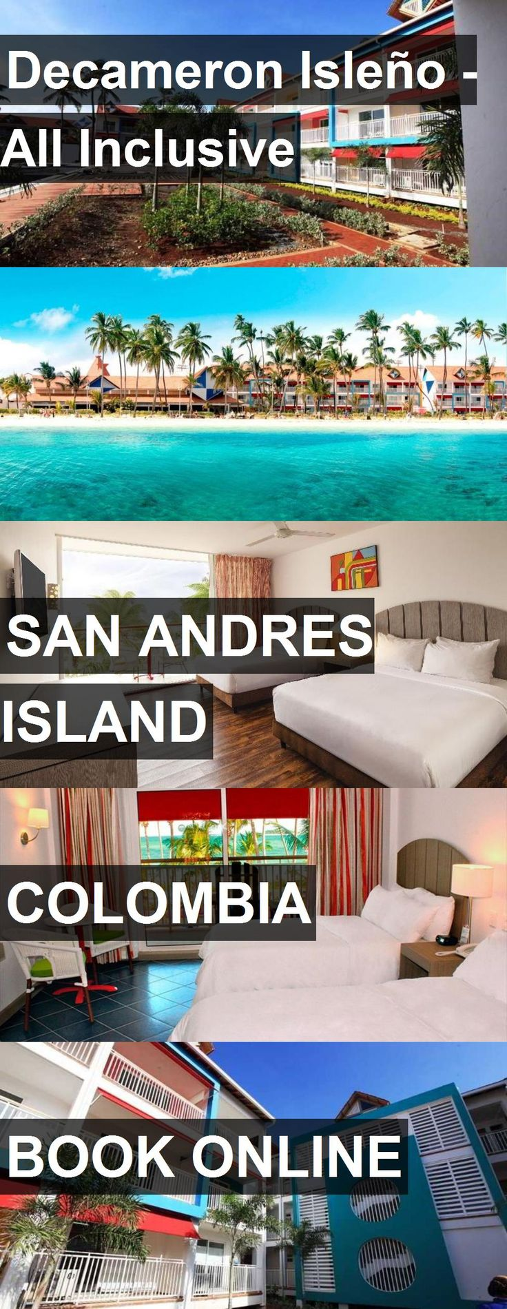 Hotel Decameron Isleño - All Inclusive in San Andres Island, Colombia. For more information, photos, reviews and best prices please follow the link. #Colombia #SanAndresIsland #travel #vacation #hotel