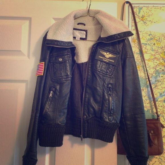 """Top Gun """"Charlie"""" Halloween costume jacket this was so much fun last year! my son and I picture at bottom, perfect for a costume party this year ! bought patches and attached Jackets & Coats"""