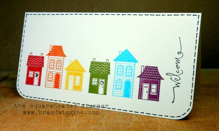 DTGD12- Neighbour Rainbow by Beedubya - Cards and Paper Crafts at Splitcoaststampers