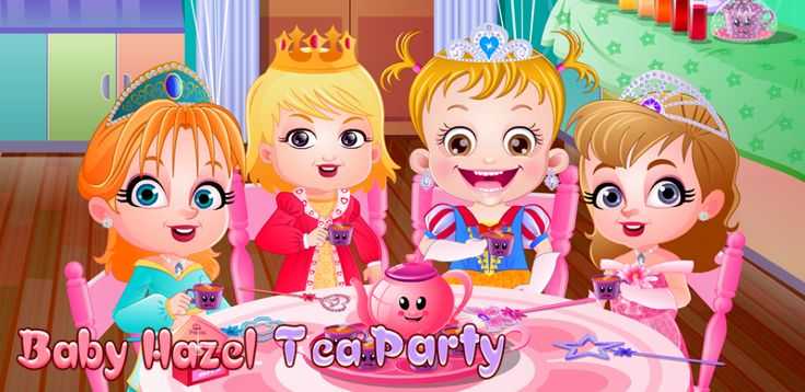 Baby Hazel Games, Baby Hazel Party Games