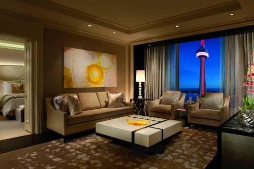 The Ritz-Carlton, Toronto - Le The Ritz-Carlton, Toronto est un hôtel de luxe situé dans le centre-ville de Toronto, à 1 pâté de maisons de la tour CN et du centre de conventions du Toronto métropolitain. Adresse The Ritz-Carlton, Toronto: 181 Wellington Street West M5V 3G7 Toronto (Ontario)