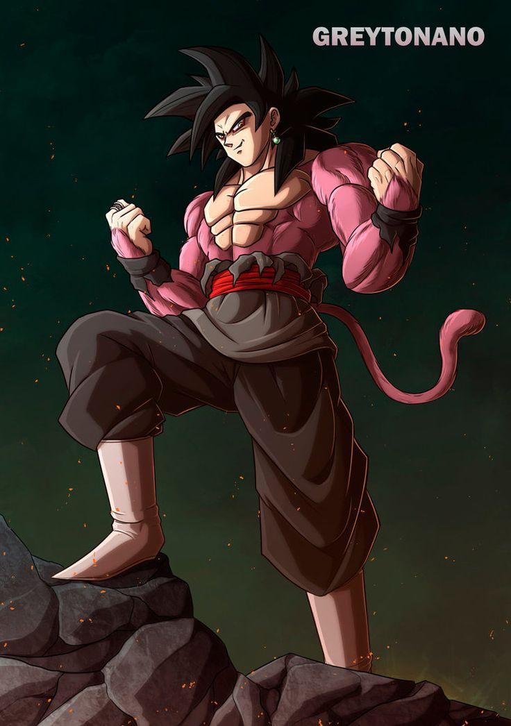 Goku Black SSJ4 V2 by greytonano