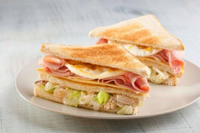 Sandwich di pollo stile americano #food #sandwinch #pollo #recipes #star #ricette