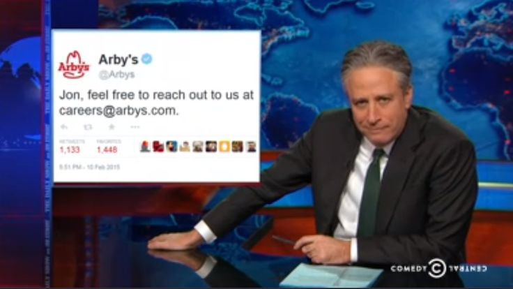Jon Stewart lines up a delicious, non-political job offer (Video)