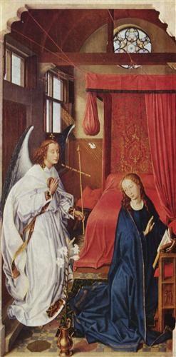 The Annunciation - Rogier van der Weyden