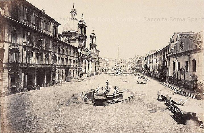 Piazza Navona Anno: 1860 ca.