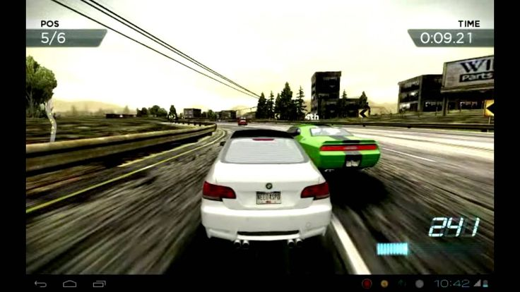 Need for speed most wanted on Huawei mediapad (+playlist)