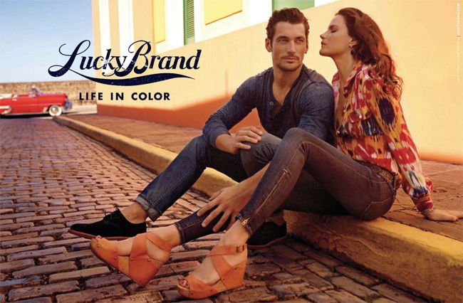 - Lucky Brand. Best pair of jeans.. Love the woman's jean collection.