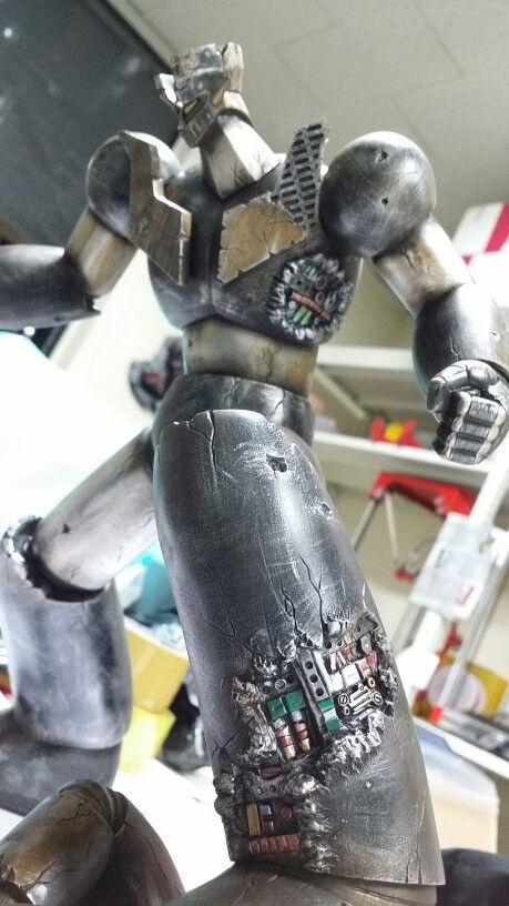 Mazinger z  demage custom  model.