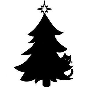 Silhouette Design Store: kitty christmas