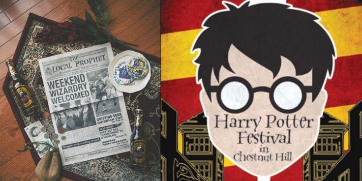 Harry Potter Festival Chestnut Hill Philadelphia October 2016