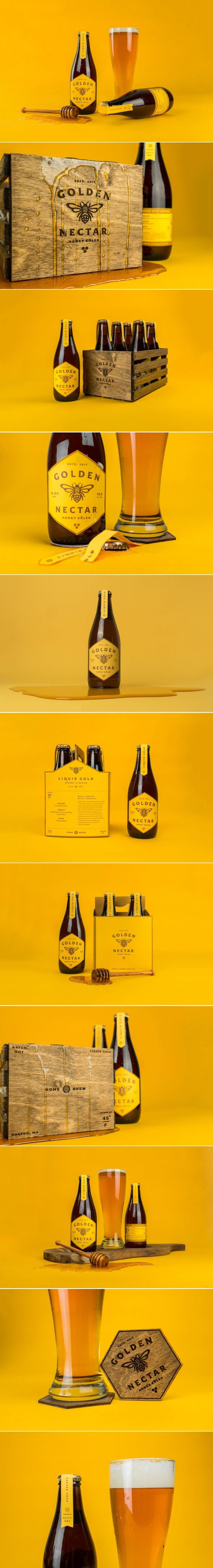 Beat The Winter Blues With This Bright Beer Packaging — The Dieline | Packaging & Branding Design & Innovation News