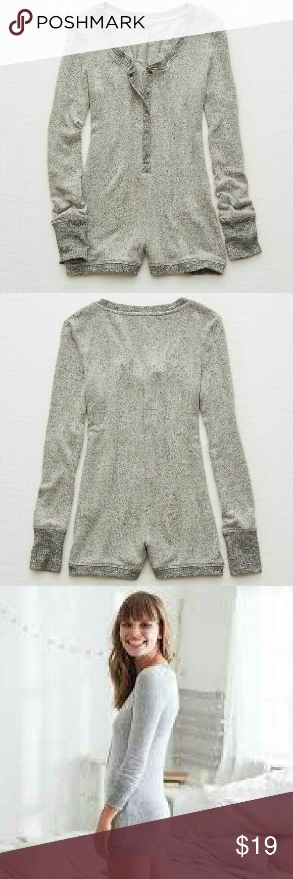 10 best sleep images on pinterest pajama romper romper clothing aerie henley romper geenschuldenfo Image collections