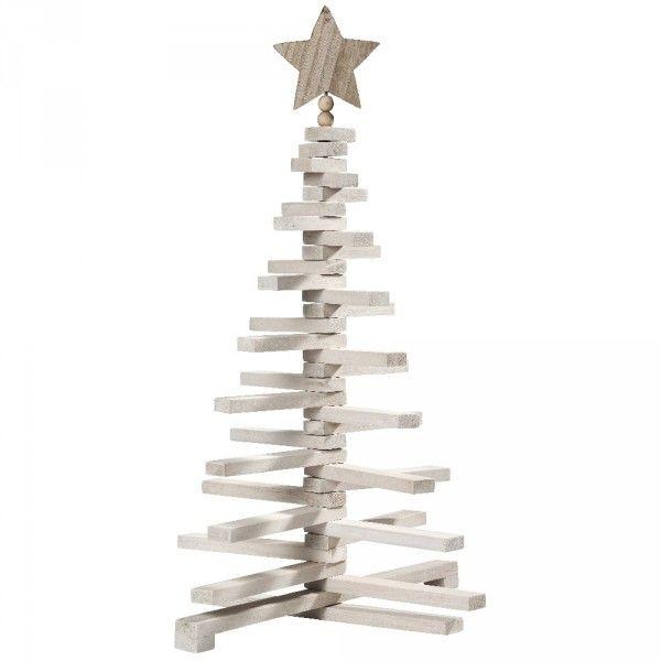 Gifi Sapin De Noel Sapin Noël bois amovible H. 71 cm   Sapin de Noël artificiel