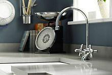 B&Q newport-chrome-effect-monobloc-tap £52