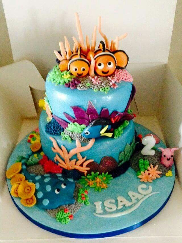 9 best Nemo cake images on Pinterest Birthday party ideas Dory