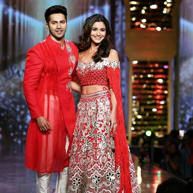 WEBSTA @ abujanisandeepkhosla - Alia Bhatt and Varun Dhawan wow in Abu Jani Sandeep Khosla at CPAA fashion show!#abujanisandeepkhosla #fashionshow #fashion #designers #aliabhatt #varundhawan #bollywood #actors #celebs #Celebrity #abujani #sandeepkhosla #ajsk #event #great #grandeur #indianwear #designerwear #sherwani #lehenga #ghagra #art #colours #couture #beauty #beautiful #stunning #red @aliaabhatt @varundvn