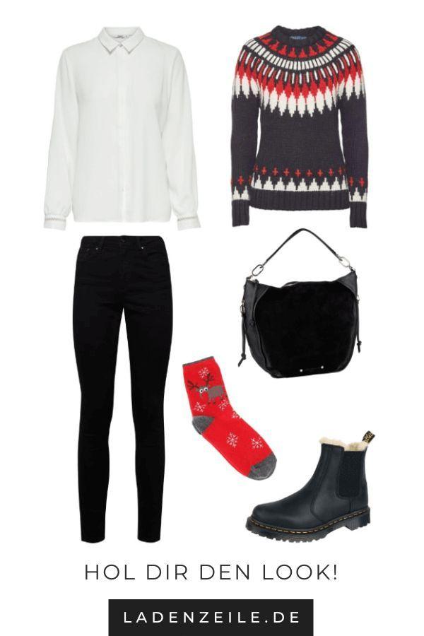Dein Weihnachts-Outfit für die Feiertage   – LadenZeile.de   Mode & Wohnen – #beauty #christmas #christmasoutfits #damenbluse2019 #deutsch #fashion #…