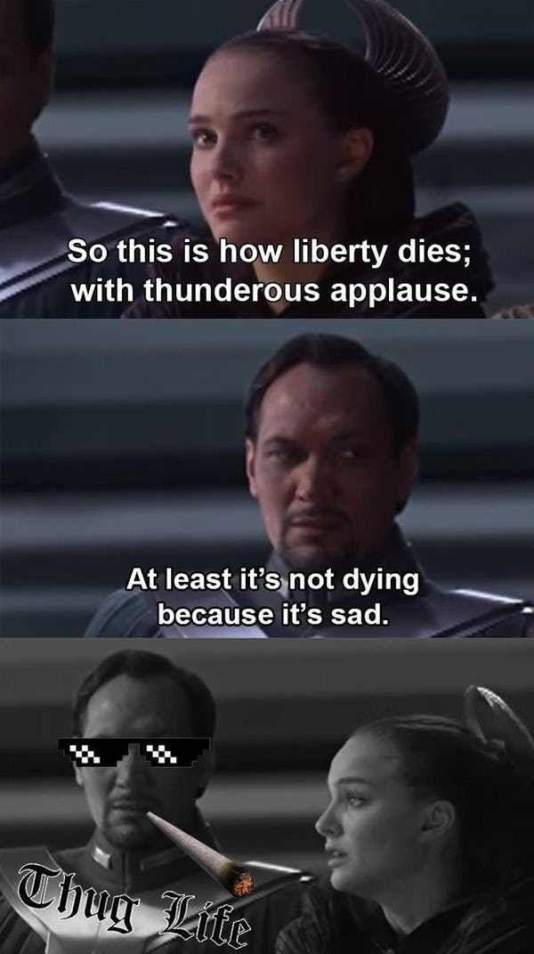 The Funniest Star Wars Prequel Memes Star Wars Humor Star Wars Jokes Funny Star Wars Memes