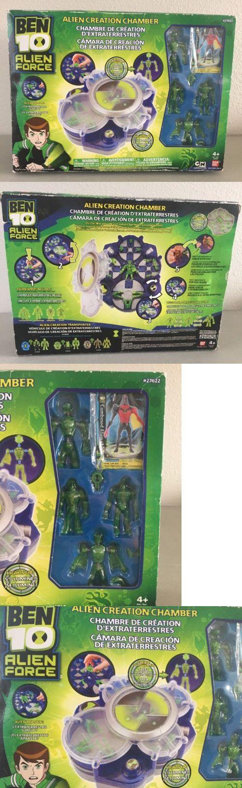 Ben 10 152906: Ben 10 Alien Force Alien Creation Chamber Blue #27622 Bandai 2009 Figures - New -> BUY IT NOW ONLY: $34.99 on eBay!